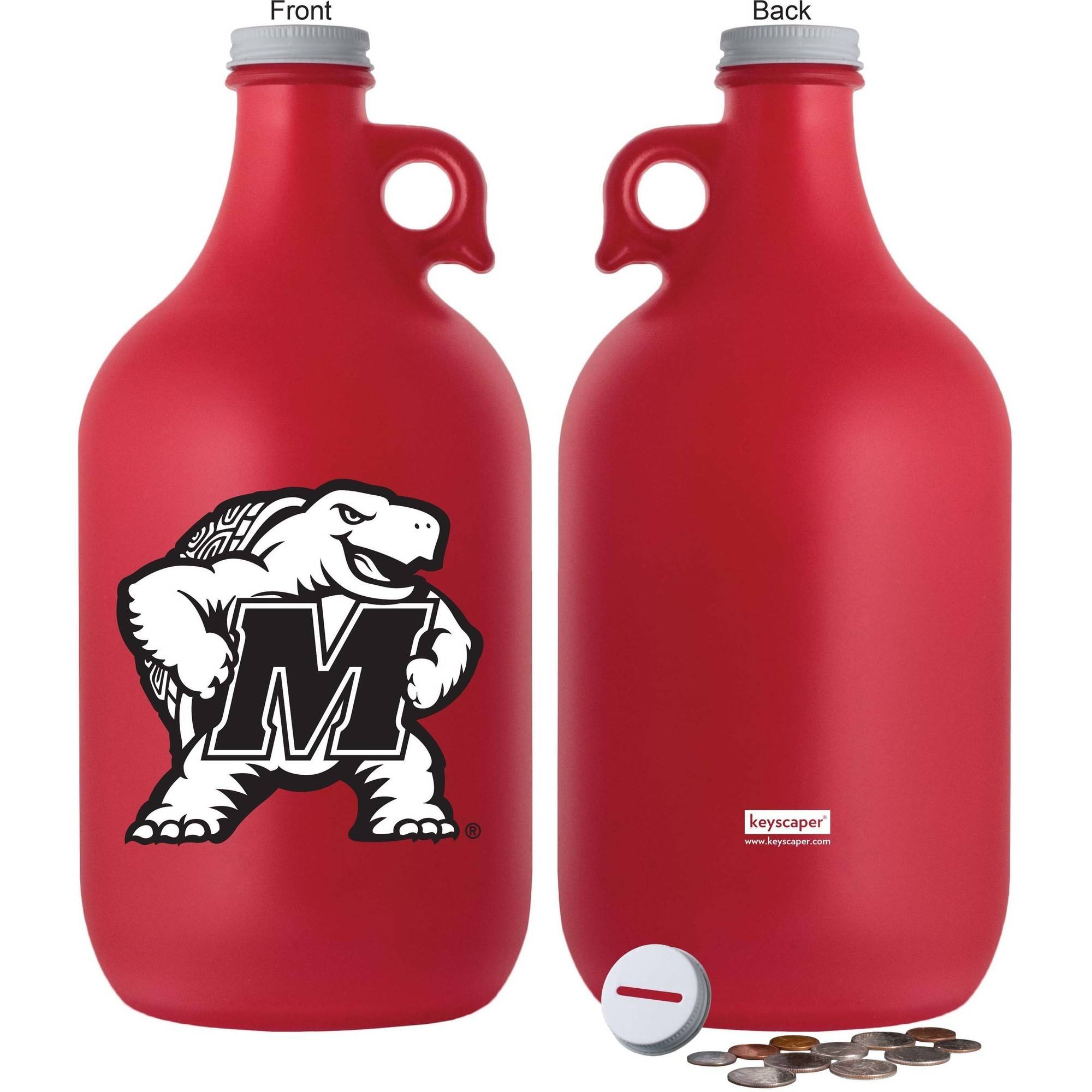NCAA Maryland Terrapins 64 oz Team Color Frost Jug