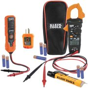 Klein CL120VP AC/DC Voltage Clamp Meter Electrical Test Kit w/LCD