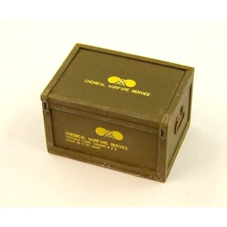 Plus Model 1:35 Box for US Flame Thrower Resin Diorama Accessory #EL046