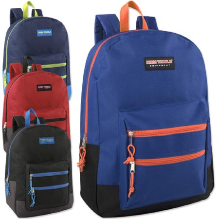 Classic 18 Inch Backpacks Bulk Wholesale Lot Case Pack 24 Back to School Supplies (4