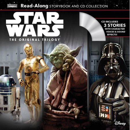 Star Wars The Original Trilogy Read-Along Storybook and CD
