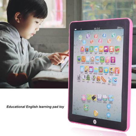 VBESTLIFE Kids Children Tablet Pad Electronic Preschool English Learning Educational Teach Toy,English Teach Toy,Tablet Pad Toy
