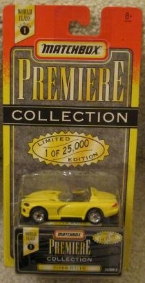 - Premiere Collection World Class Series 1 YELLOW VIPER RT 10 Limited Edition (25,000)... by