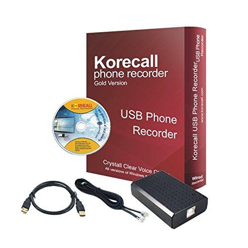 Landline Phone Call Recorder USB Telephone Conversation R...