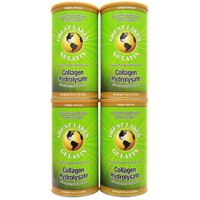 Great Lakes Gelatin, Gelatin Collagen (Green), 1 Lb (Pack of 4)