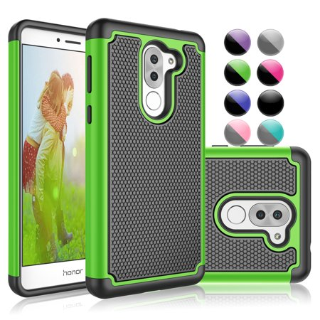 the latest c0284 da49b Cases for Huawei Mate SE / Honor 7X / Honor 6X, Njjex [Shock Absorption]  Drop Protection Hybrid Dual Layer Armor Defender Protective Case Cover For  ...