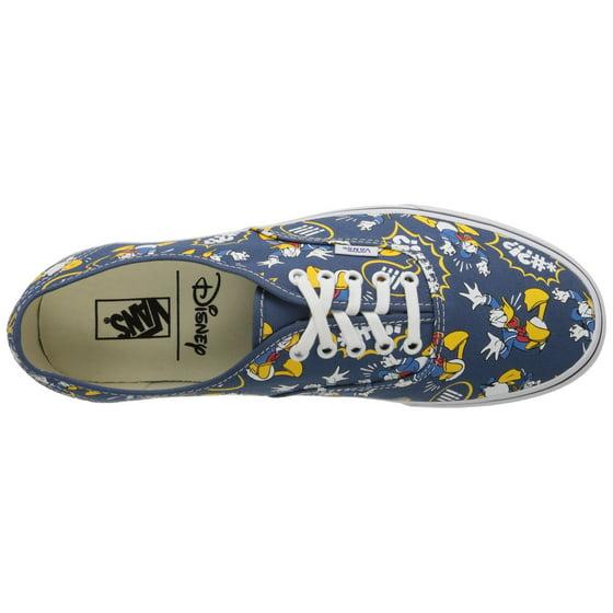 b28cd6f2fe Vans - Vans Unisex Disney Donald Duck Skate Shoes-Donald Duck Navy -  Walmart.com