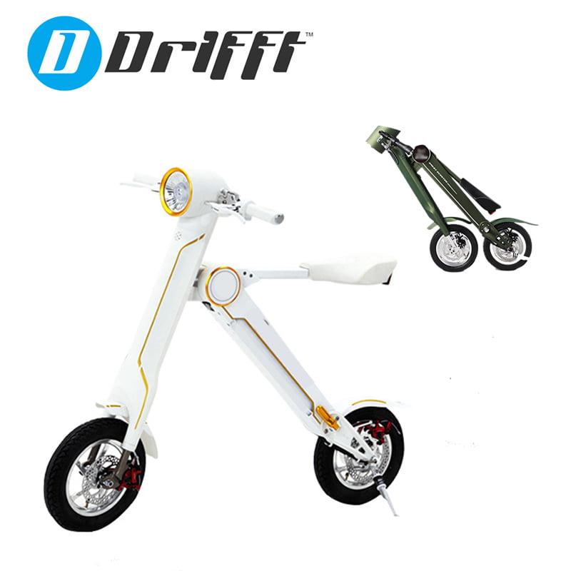 K1 Electric Folding Scooter Scoot e-Bike in White