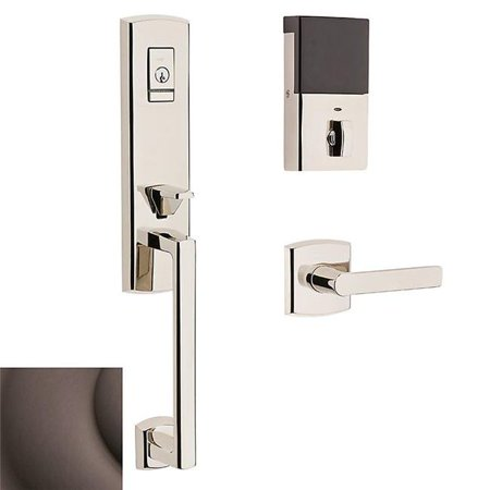 Baldwin Hardware Soho Single - Baldwin  85387.RENT  Keyed Entry  Soho  Handleset  Single Cylinder  ;Venetian Bronze
