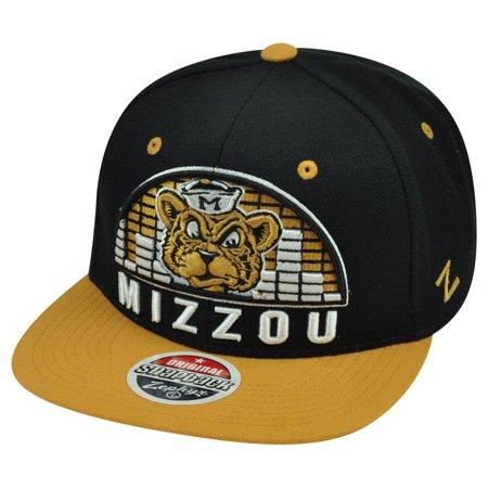 NCAA Zephyr Missouri Mizzou Tigers Equalizer 32/5 Snapback Flat Bill Hat Cap