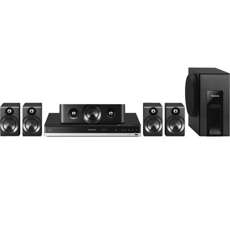 Panasonic BTT405 Home Theater System with Smart Network and 3D Blu-Ray, 600W, Black