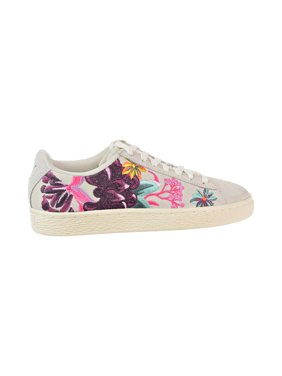 newest ee238 f1c9f Product Image Puma Suede Hyper Emb Women s Shoes Whisper White Orchid  368137-01