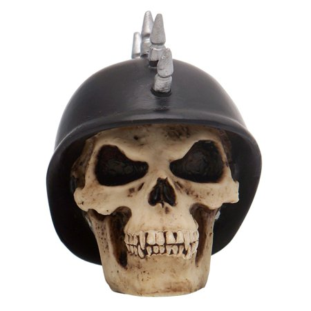 Mohawk German Helmet Skull Custom Shift Knob 350 Sbc 9 Inch Rhr G Force Racing