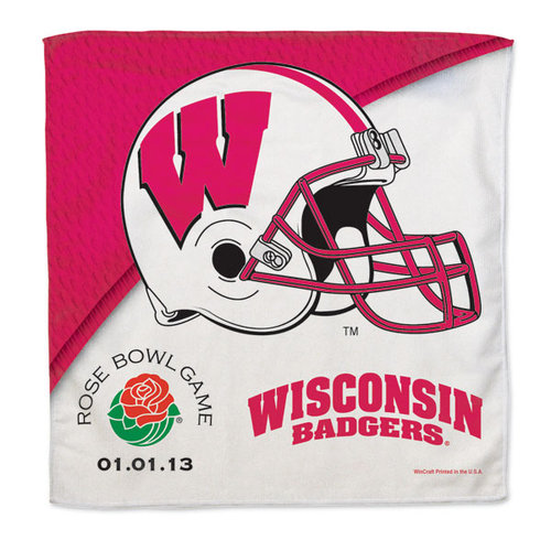 NCAA - Wisconsin Badgers 2013 Rose Bowl Bound 16x16 Rally Towel
