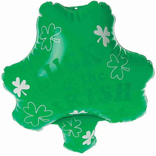 Inflatable Shamrock, Pack of 12