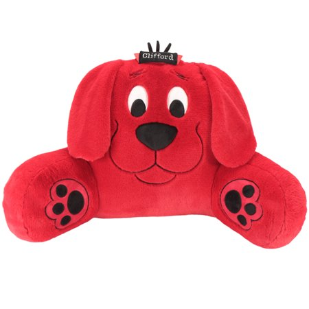 Animal Adventure Sweet Seats Clifford Big Red Dog Backrest Cushion | Soft and Plush Stuffed Backrest Cushion | Lightweight and Portable | 14