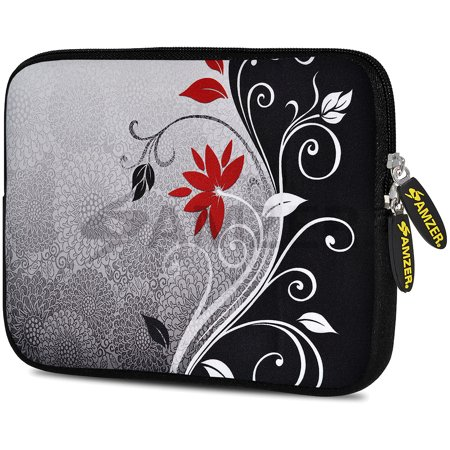 Designer 10.5 Inch Soft Neoprene Sleeve Case Pouch for Samsung Galaxy Tab A 10.1 2016, Tab 4 10.1, LG G Pad X 10.1, ASUS ZenPad Z300M 10.1, Fire HD 10 Tablet - Verona