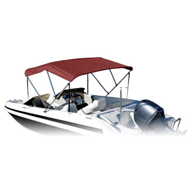 Eevelle SS-463B90M Summerset Bimini Boat Top - Maroon