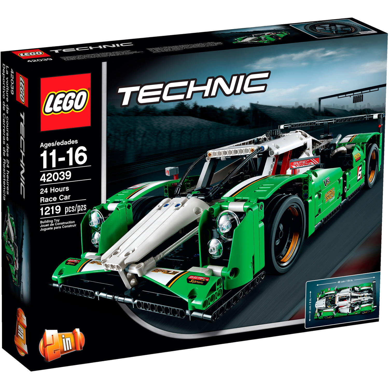 LEGO Technic 24 Hours Race Car, 42039