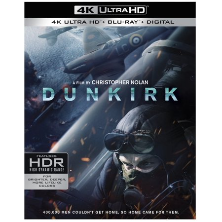 Dunkirk (2017) (4K Ultra HD + Blu-ray + Digital) - Happy Halloween 2017 Hd