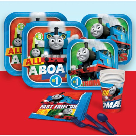 Thomas The Train All Aboard Party Pack for 8