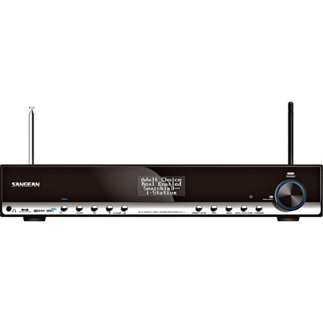 Sangean WFT-1 Internet Radio Wireless LAN 10 Channel(s) Internet Streaming by Sangean