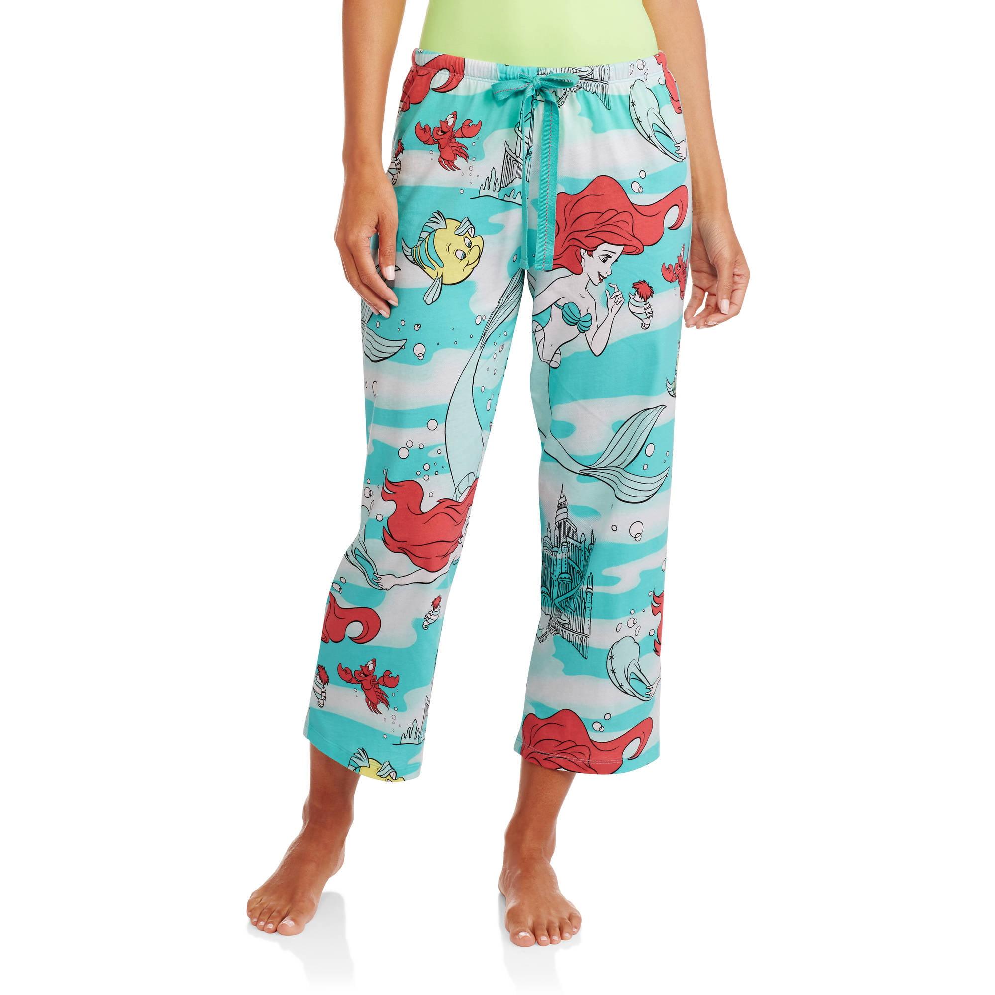 Disney's Little Mermaid Ariel Women's Knit Sleep Pants