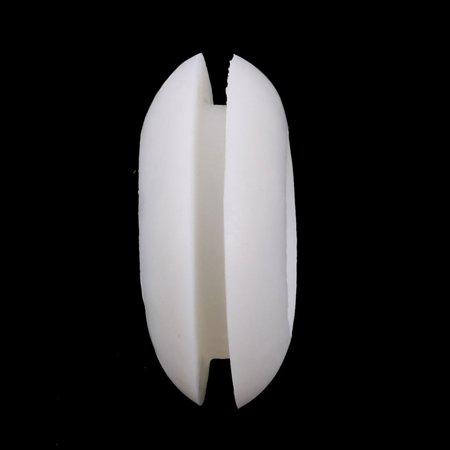 50pcs c té Double manchon caoutchouc Anneau illet blanc Fil 20mm Dia interne - image 1 de 3