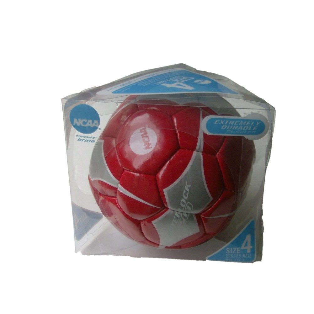 Brine NCAA Interlock 200 Soccer Ball Red & Silver Size 4 Sport Ball