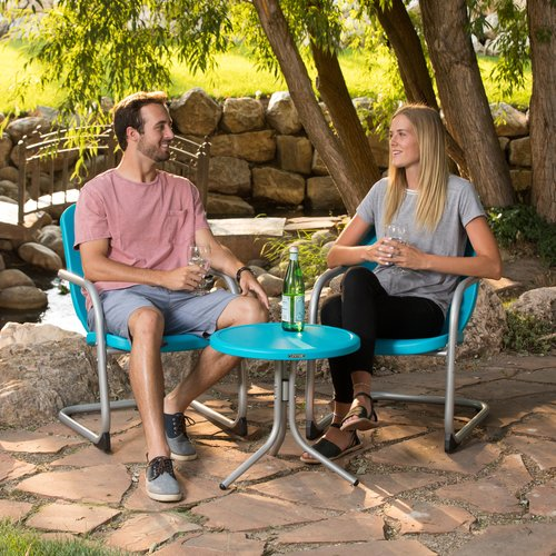 Lifetime Retro Patio Set - Table and 2 Chairs, 60193