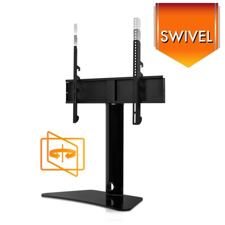Mount It Swivel Tabletop Tv Stand Base For 32 Quot 55 Quot Inch Flat Screen Tvs Walmart Com