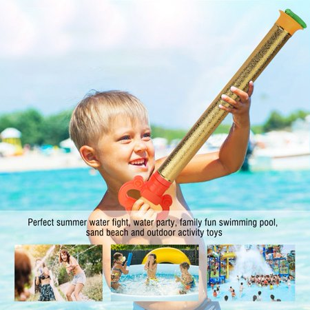 Qiilu 2pcs 53cm Water Launcher Guns Water Blaster Shooter for Outdoor Swimming Pool Games Toys, Water Blaster, Water Shooter - image 5 of 8