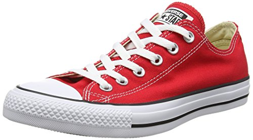 Converse Chuck Taylor All Star Low Top Red Sneakers - 15 B(M) US Women / 13 D(M) US Men