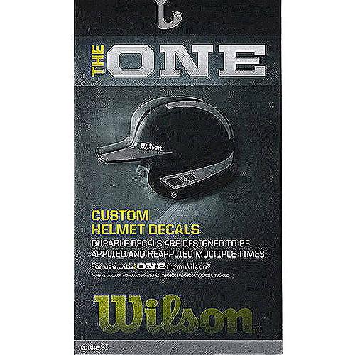 "Wilson ""The One"" Custom Helmet Decal Kit"