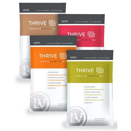 Le Vel Thrive Premium Lifestyle Mix Packets Sampler Pack Walmart
