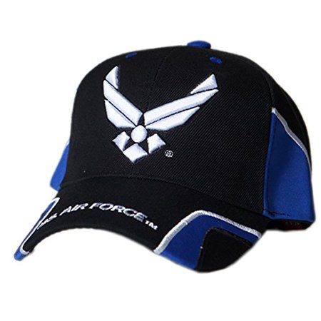 US Honor Official Embroidered Force Air Force Wing Baseball Caps Hats