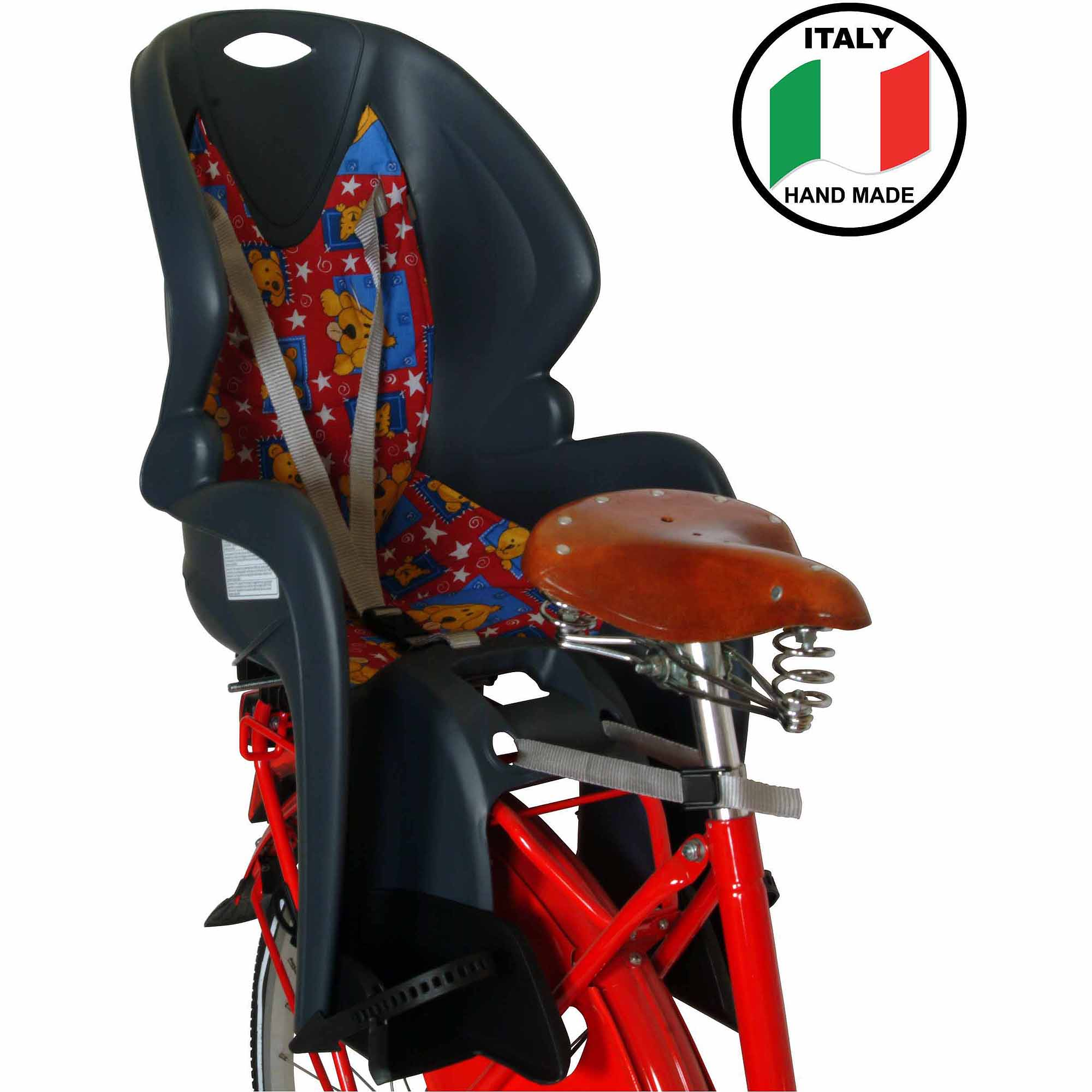 Dieffe GP Baby Carrier with Rear Rack Mount