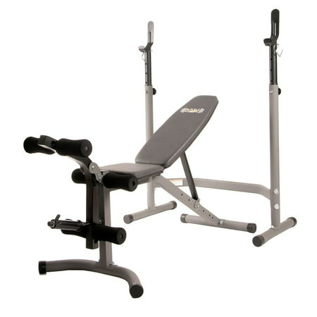 Body Champ Step Through Olympic Width Weight Bench -