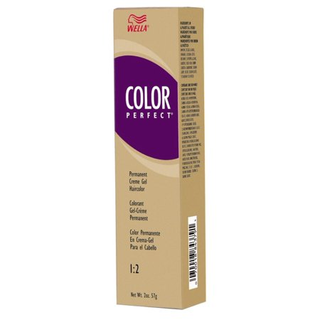 Red Hair Cream (Wella Color Perfect Permanent Creme Gel Haircolor - 8/43 (8RG) Light Red Golden Blonde)