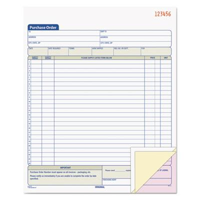 TOPS Purchase Order Book by