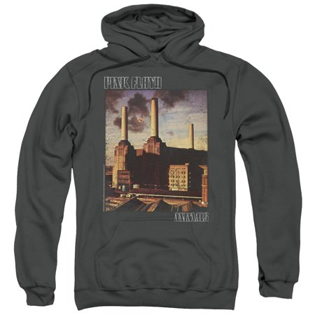 Hoodie: Pink Floyd- Animals Distressed Pullover - Perrys Blend