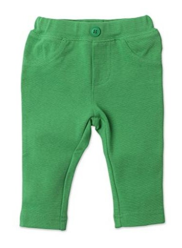 Zutano Primary Solid Stretch Knit Jegging- Apple, 12 Months