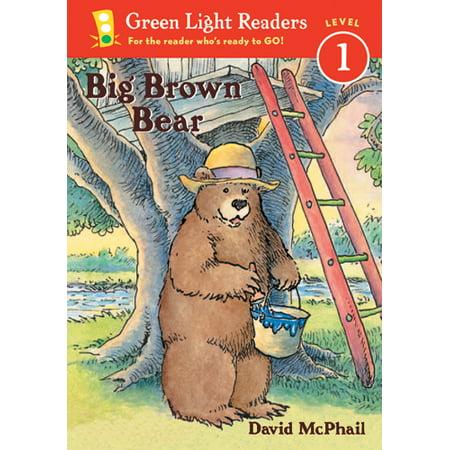Green Light Readers Big Brown Bear - image 1 of 1