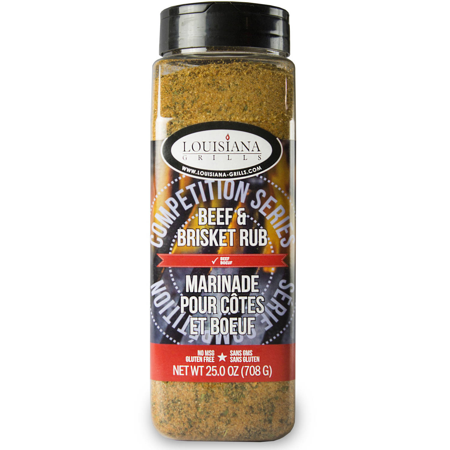 Louisiana Grills Spices and Rubs, Beef and Brisket Rub, 24 oz