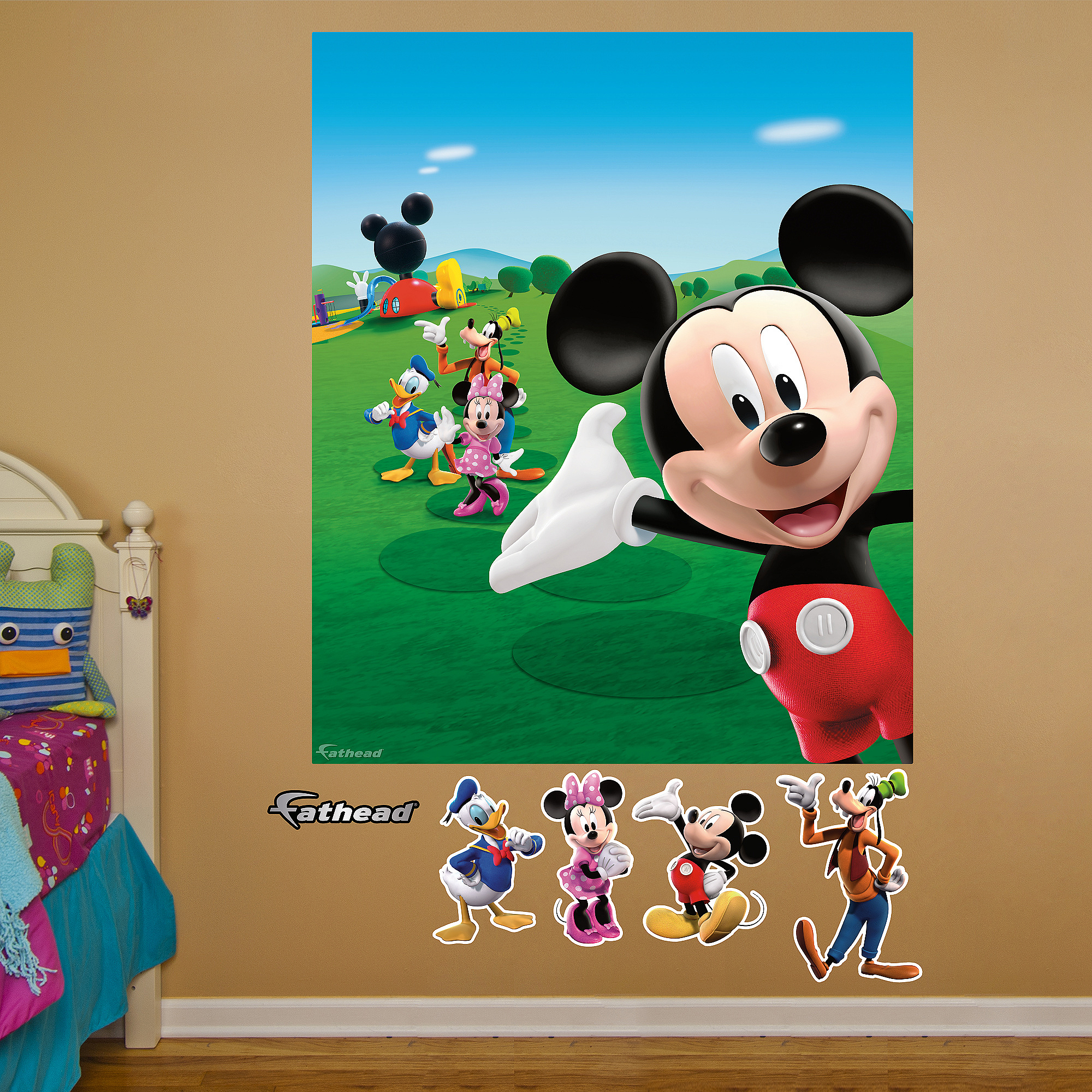Mickey Mouse Clubhouse Fathead Mural