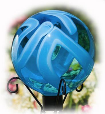EARTH GLOBE Gazing Ball by Evergreen by EVERGREEN ENTERPRISES
