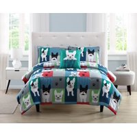Happiness by Design Archie the Frenchie Patchwork Bed in a Bag