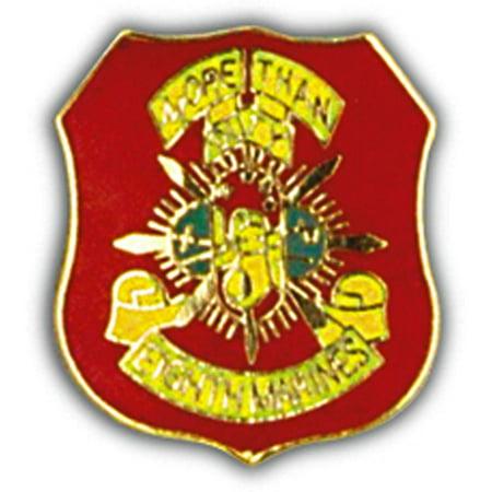 U.S.M.C. 8th Marine Regiment Pin 1