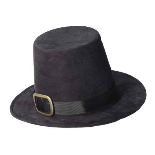 Deluxe Pilgrim Adult Historical Halloween Hat