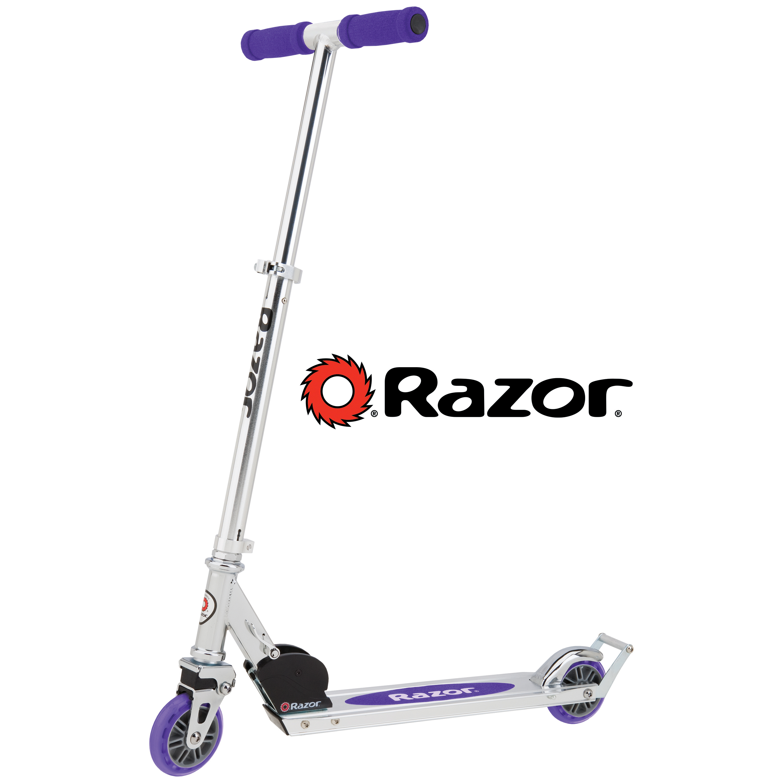 Red Razor A2 Aluminum Kick Scooter Boys//Girls